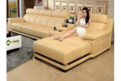ghế sofa da mã 12
