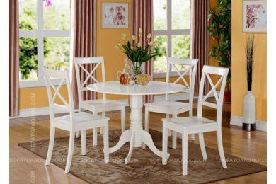 Mẫu bàn ghế ăn tròn mã 22