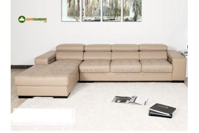 Mẫu bộ ghế sofa da phong cách nhật bản mã 117