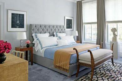 Giường ngủ bọc vải mã 14