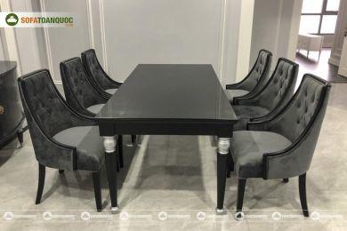 Bàn ghế ăn mã 38