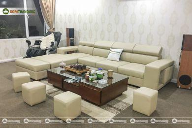 Bộ ghế sofa da mã 192