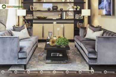 Ghế sofa vải mã 83