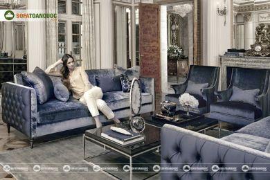 Ghế sofa vải mã 88