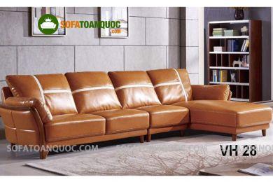 Sofa da nhập khẩu mã VH28