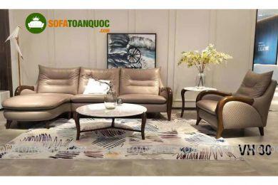 Sofa da nhập khẩu mã VH30