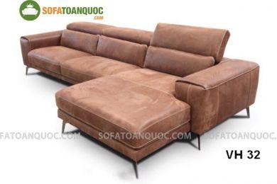 Sofa da nhập khẩu mã VH32