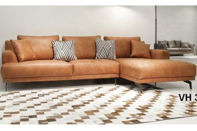 Sofa da nhập khẩu mã VH35