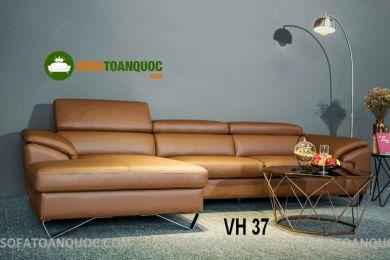 Sofa da nhập khẩu mã VH37