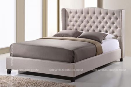 giường ngủ bọc vải mã 06