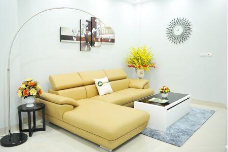 ghế sofa da  mã sd-02p-08