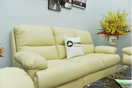 Bộ bàn ghế sofa da bò tót nhập khẩu mã tq06-09