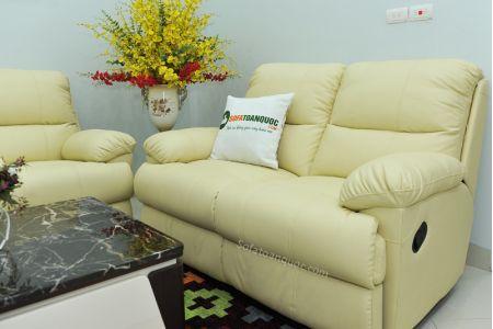Bộ bàn ghế sofa da bò tót nhập khẩu mã tq06-10