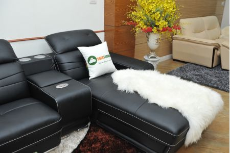 ghế sofa da nhập khẩu mã sdn03t-16