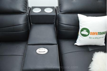 ghế sofa da nhập khẩu mã sdn03t-17