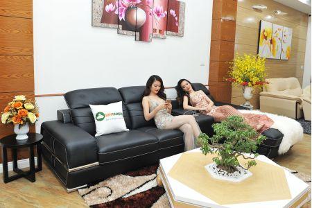 Bộ ghế Sofa da cao cấp nhập khẩu malaysia mã TQ-03T