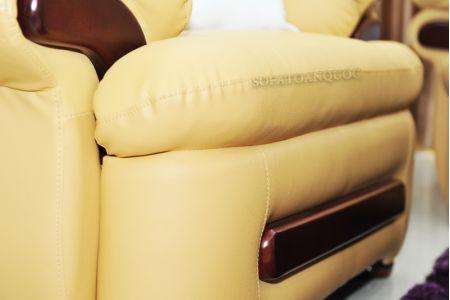 ghế sofa da nhập khẩu sdn12