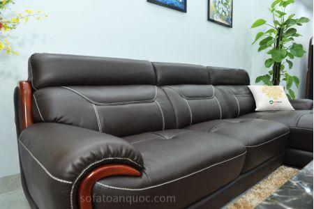 ghế sofa da nhập khẩu sdn011t-12
