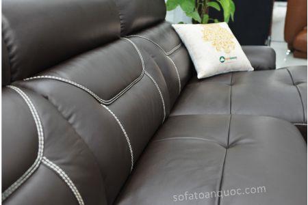 ghế sofa da nhập khẩu sdn011t-15