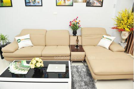 ghế sofa da nhập khẩu sdn09t-10