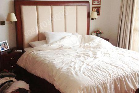 giường ngủ bọc da mã 12