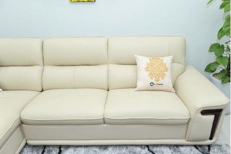 Bộ ghế sofa giả da cao cấp nhập khẩu mã QVF1623P-11