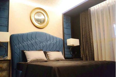 Giường ngủ bọc vải mã 47