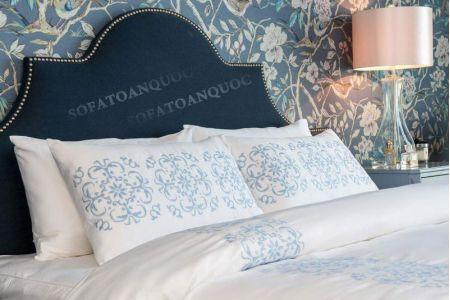 giường ngủ bọc vải mã 52-2