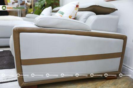 Bộ ghế sofa da góc phải mã sdn24p-11.1