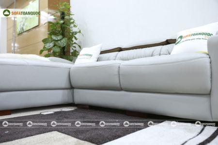 Bộ ghế sofa da góc phải mã sdn24p-10