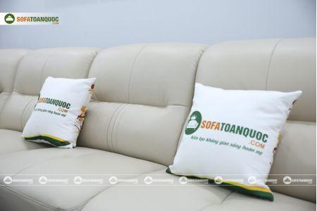 Bộ bàn ghế sofa da đẹp cao cấp nhập khẩu mã sdn-20p-13