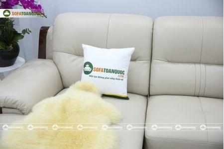 Bộ bàn ghế sofa da đẹp cao cấp nhập khẩu mã sdn-20p-14