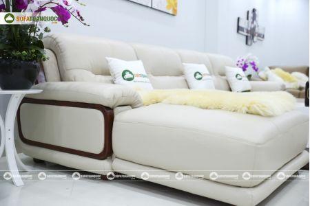 Bộ bàn ghế sofa da đẹp cao cấp nhập khẩu mã sdn-20p-10