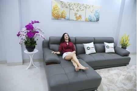 Bộ bàn ghế sofa da microfiber mã sdn16p-2