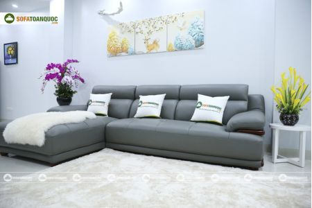 Bộ bàn ghế sofa da microfiber mã sdn16p-4