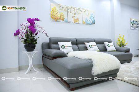 Bộ bàn ghế sofa da microfiber mã sdn16p-5
