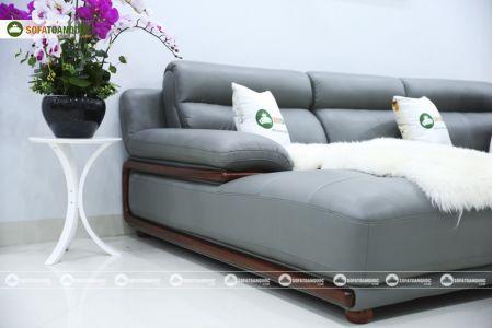 Bộ bàn ghế sofa da microfiber mã sdn16p-7