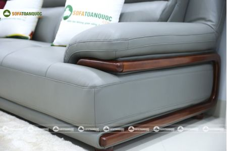 Bộ bàn ghế sofa da microfiber mã sdn16p-8