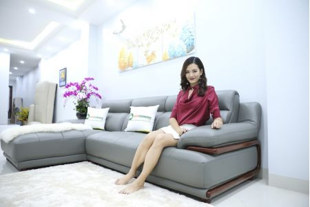 ghế sofa da nhập khẩu mã 191