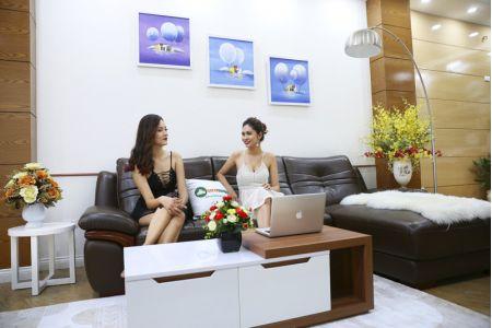 Bộ bàn ghế sofa da phong cách châu âu nhập khẩu mã sdn22t-1