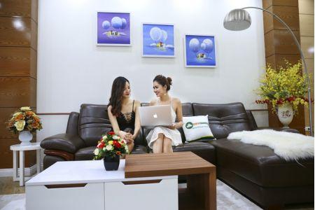 Bộ bàn ghế sofa da phong cách châu âu nhập khẩu mã sdn22t-2