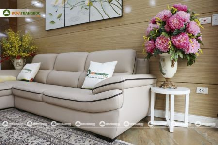 Bộ ghế sofa da mã sdn29p-10