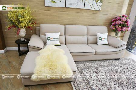 Bộ ghế sofa da mã sdn29p-6