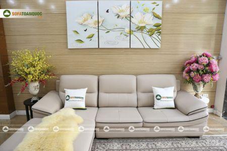 Bộ ghế sofa da mã sdn29p-7