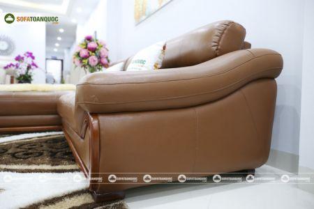 bộ ghế sofa da cao cấp nhập khẩu mã sdn19p-10