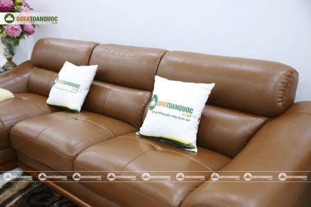 bộ ghế sofa da cao cấp nhập khẩu mã sdn19p-12