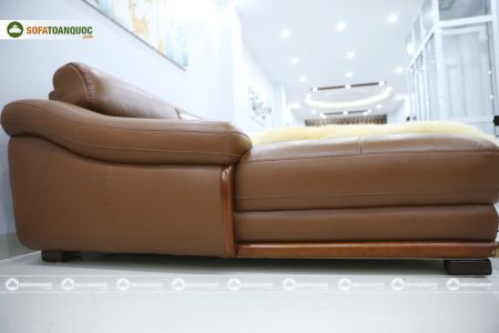 bộ ghế sofa da cao cấp nhập khẩu mã sdn19p-7