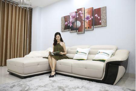 Ghế sofa da mã sdn17p-1
