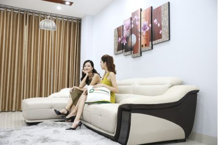 Ghế sofa da mã sdn17p-3