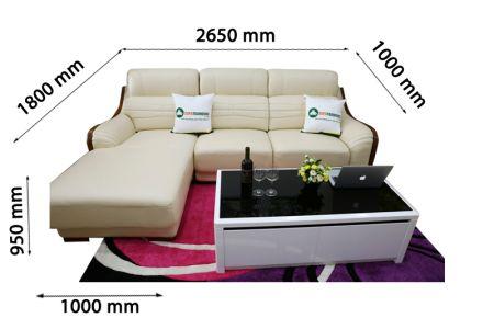 Sofa da nhập khẩu mã VH-10P
